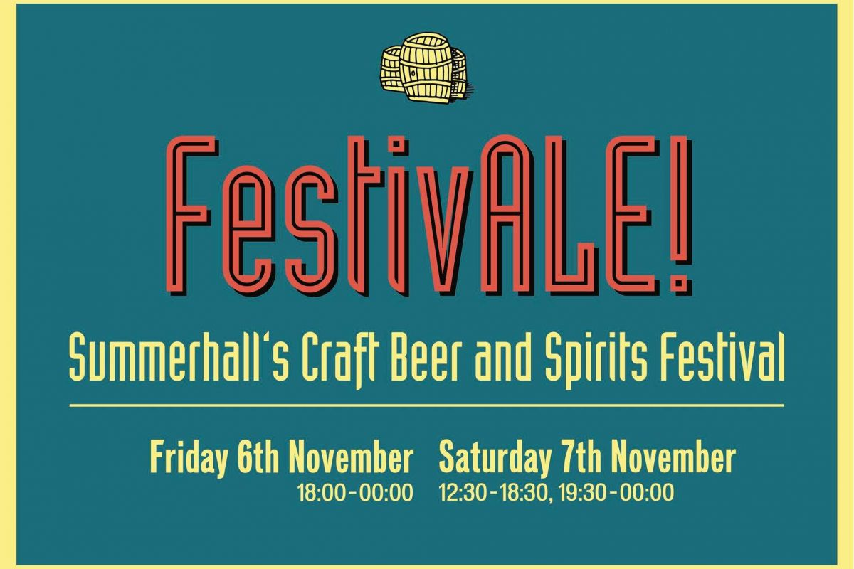 Summerhall FestivALE!